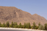 Mountain west of Ashgabat - this one has the shorter of the 2 Walks of Health, 8 km, with a pavilion at the apex
