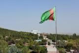 Saglyk Ýoly Park to the west of Ashgabat