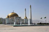 Square in front of the Turkmenbashy Ruhy Metjidi