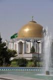 The Mausoleum of Türkmenbashy