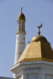 Octagonal dome and minaret