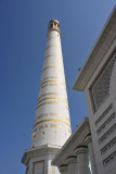 One of the four 91m minarets
