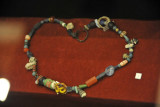 Stone and glass bead necklace, 3000-2000 BC