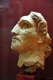 Sculptured head of a man, Old Nisa, 2nd C. BC