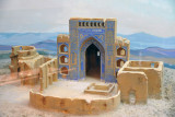 Model of the Seit Jemalledin Mosque, Anau, 15rh C.