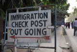 Indian Immigration Checkpost at Wagah - Outgoing