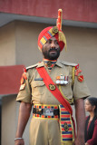 Turbaned BSF officer