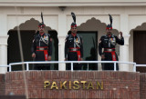 The Pakistani Rangers make much better use of their gate than the BSF