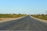 On the road from Qoshkopir to Shavat