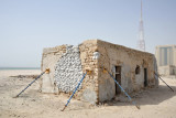 Old house under restoration in Al Khan near the Sharjah Aquarium