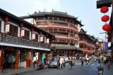 Fang Bang Zhong Lu - touristy shopping in the style of old China