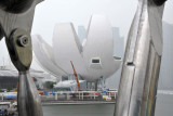 Singapore Art Science Museum nearing completion