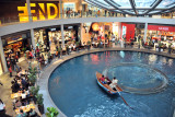 Gondola canal, Shoppes at Marina Bay Sands