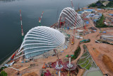 Gardens by the Bay, under construction, December 2010