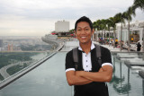 Dennis at the Sky Garden, Singapore