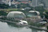The Esplanade from the Sky Garden, Singapore