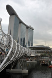 Helix foot bridge, Marina Bay Sands