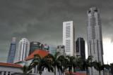 Singapore Skyline and Parliament