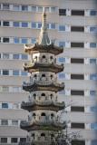 Chinese pagoda, Holloway Circus, Birmingham