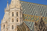 Roof detail, Stephansdom