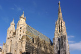 Stephansdom  with blue sky