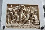 Vienna relief sculpture - Mercatus Sanus Felicitatis Fundamentum, Herrengasse