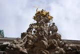 Pestsäule, a key monument on the Graben, Wien