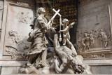 Sculptures on the Plague Column, Vienna