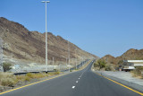 The road to Muscat