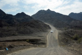 The road to Hatta Pools
