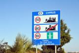 CY - Cyprus speed limits