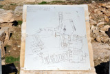 Map of the Sanctuary of Apollo Hylates