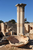 Columns and stone steps, Sanctuary of Apollo