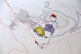 Map of the Amphitheater of Kourion and the House of Eustolios