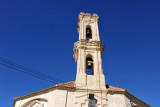 Typical Cypriot Greek Orthodox church tower