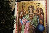 Mosaic of Archangel Michael, Kykkos Monastery