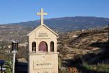 Roadside Greek Orthodox Shrine to the Virgin Mary - Panagia Amasgous