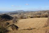 Plowed field waiting for spring - near Malia