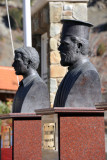 Busts at the EOKA Memorial - Mylikouri