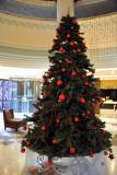 Christmas tree at the King Fahd Palace