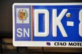 Senegal License Plate - Dakar