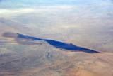 What looks like a seasonal lake in the desert of northern Mauritania (January - N25/W11))