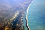 Long beach south of St. Louis, Gnayam, Sénégal