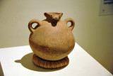 Pitcher with zoomorphic decoration - Quelepa - classical period