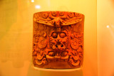 Classical period vase depicting the Maya sun god, 250-900 AD