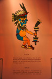 Tlaloc - god of water, springs and rivers