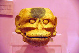 Head from Los Guapotes archaeological site, Postclassic period 900-1200 AD