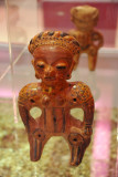Female figurine with rattles, from Eastern El Salvador, Classic Period