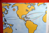 Spanish trade routes