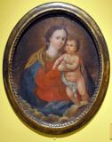 Virgen Maria con el Niño Jesús, 18th C.